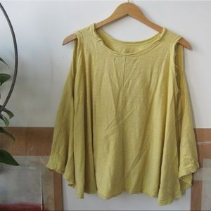 Free People Tops - FP Beach Yellow Tank Top